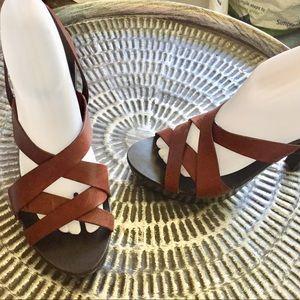 SJP Sarah Jessica Parker Heels Sandals Sz 10